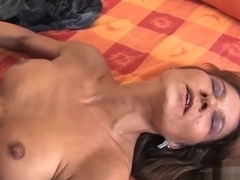 sexy brunette elena loves to get fucked out