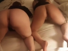 Fucking Two Desperate BBWs From The Club