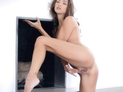 Celeste is an exceptional woman masturbating!