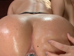 Incredible big tits, anal sex scene with crazy pornstars Lea Lexis, AJ Applegate and Alex Chance from Everythingbutt
