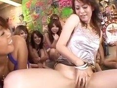 Crazy Japanese whore Mimi, Amin Kawai, Ai Himeno in Amazing Group Sex, Face Sitting JAV movie