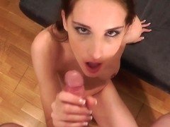 Captivating Tina Blade acquires a giant facial!