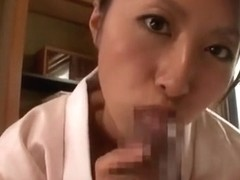Horny Japanese slut Rei Aoki in Crazy Couple, Small Tits JAV clip