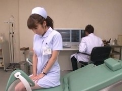 Mika Kayama Obscene Asian nurse is horny Asian chick