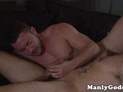 Jock rimming hunk after sixtynining