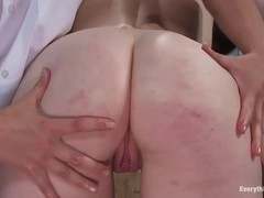 Madison anally fucked by the Milk Man