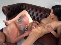 Very sexy girl for an old man