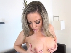 Fabulous pornstar Carmen Valentina in Incredible Medium Tits, Masturbation sex scene