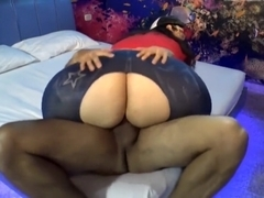 Huge Latin milf butt pounded...