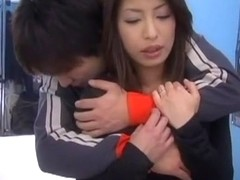 Incredible Japanese girl Mika Kayama in Exotic Couple, Cunnilingus JAV scene
