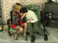 Mature russian fucked with guy