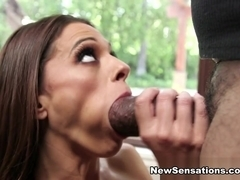 Eva Long  Shane Diesel in Eva Kept Him Waiting For Her Tightest Slot - NewSensations